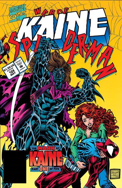 Kaine es un clon imperfecto y precognitivo de Spiderman