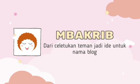 Cerita Mbakrib