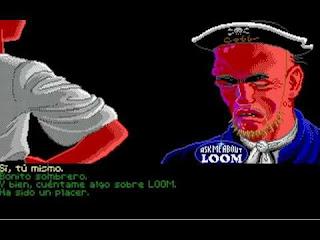 Cobb en plena promoción de Loom