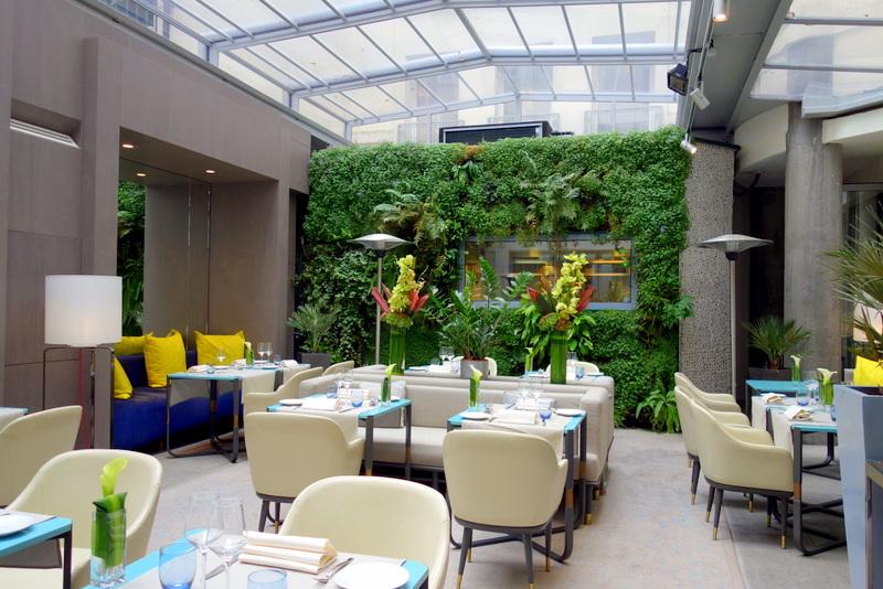 Mes adresses d jeuner au restaurant de l 39 h tel de sers for Restaurant paris terrasse jardin