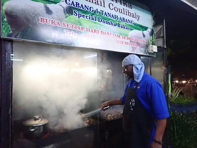 Sate Afrika H. Ismail Coulibaly di La Piazza, Kelapa Gading, Jakarta
