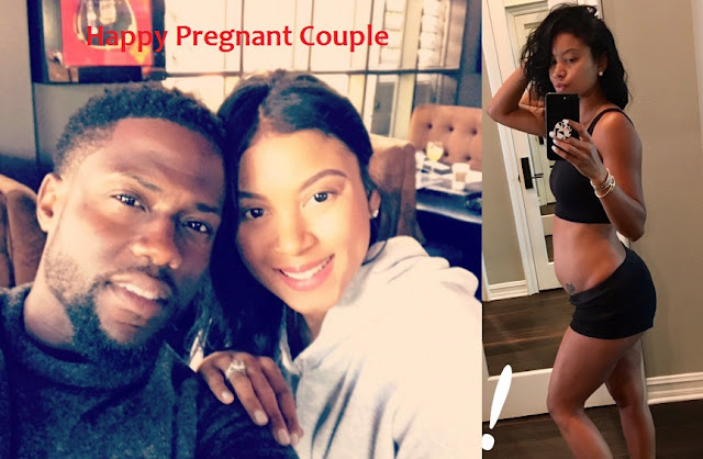 Pictures Posted by Kevin Hart of his and his wife Eniko Parrish