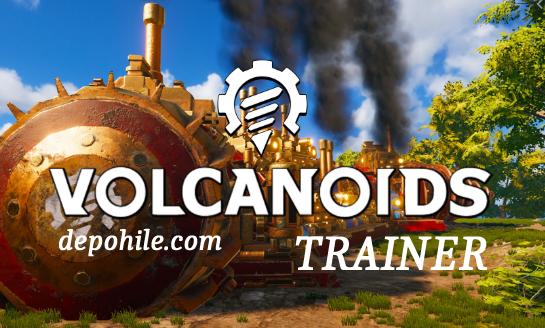 Volcanoids PC Sınırsız Can, Mermi +4 Trainer Hilesi İndir 2020