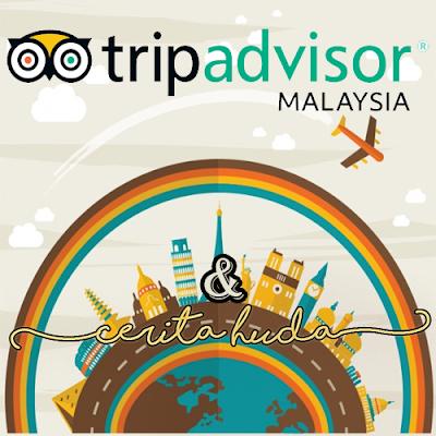Seronok tulis review di Trip Advisor