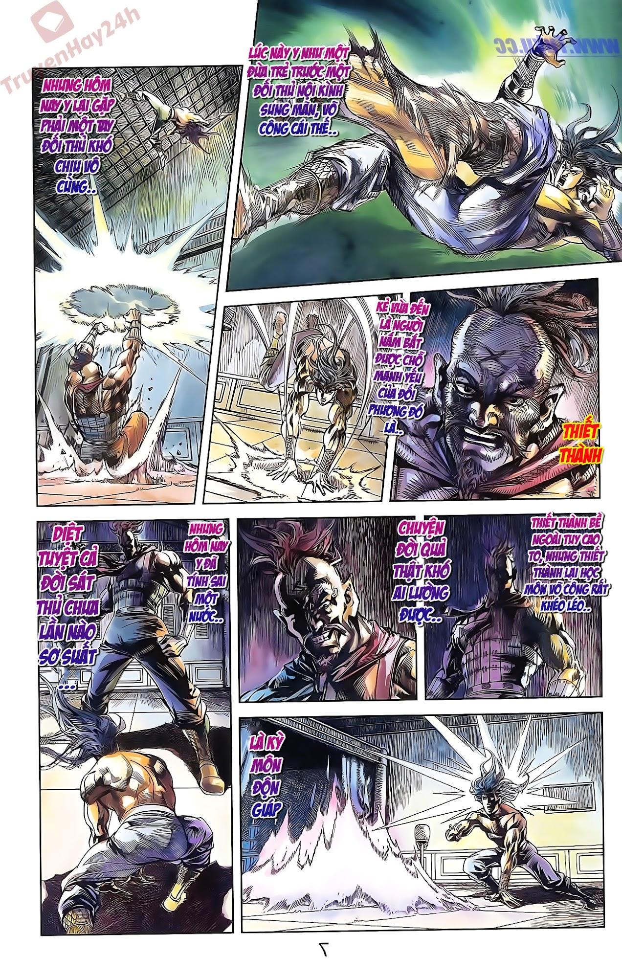 Tần Vương Doanh Chính chapter 50 trang 7