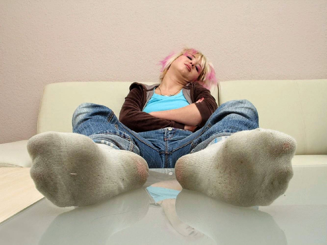 Her Dirty Teen Socks Sock 20