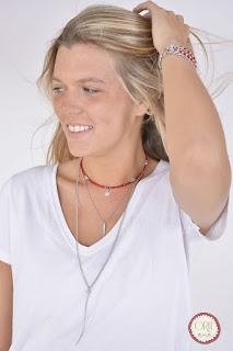 ניקי צבע אדום צילום: אורית תכשיטים