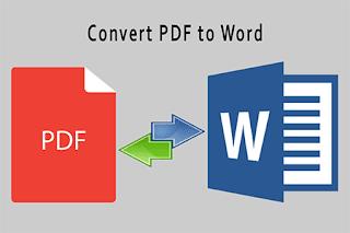 Cara Merubah File PDF ke Word