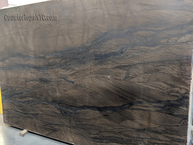 Quartzito marrom sandalus leathered quartzite slabs NYC