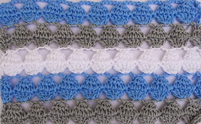 4 - Crochet Imagen Puntada calada colorida a crochet y ganchillo por Majovel Crochet