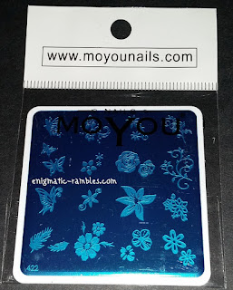 Review-MoYou-Nails-422-Stamping-Plate