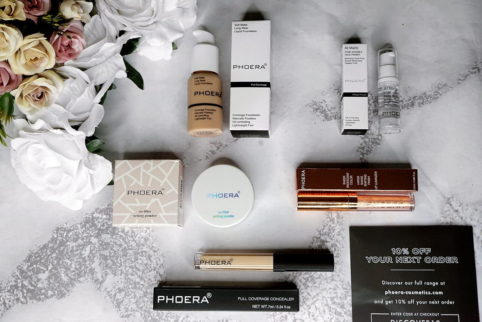 OFFICIAL UK LAUNCH OF PHOERA COSMETICS