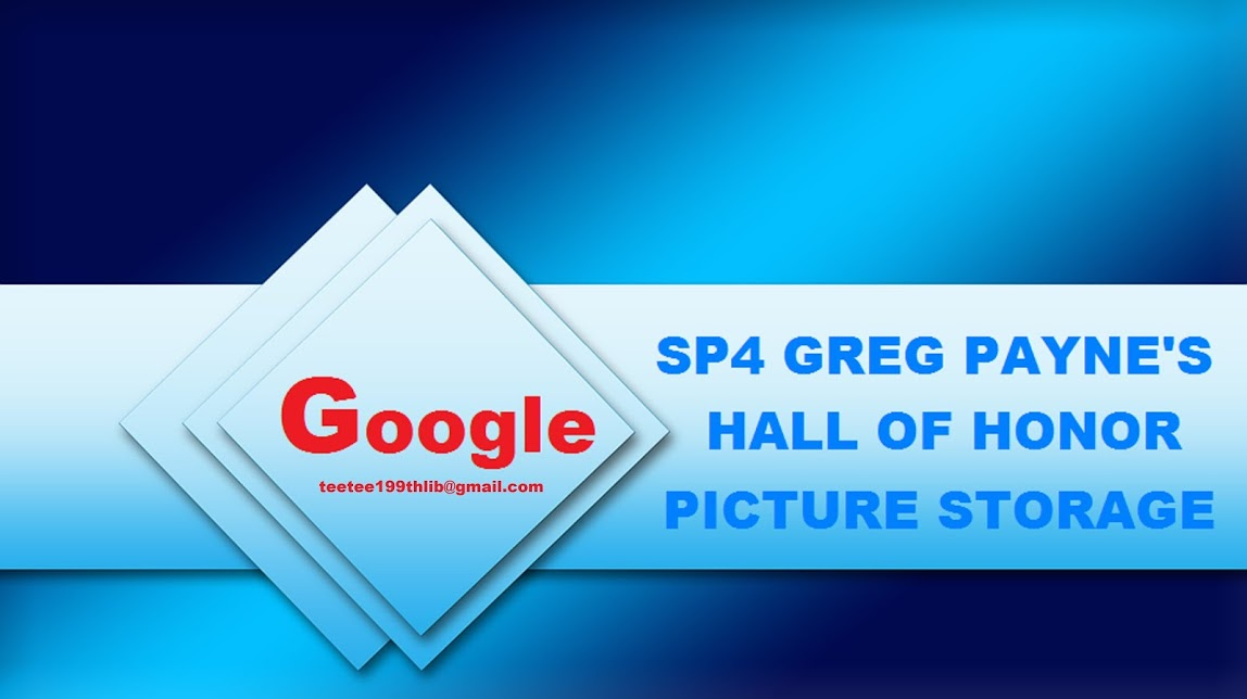 SP4 GREG PAYNE'S HALL OF HONOR PICTURE STORAGE