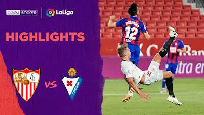 Video Sevilla 1-0 Eibar: Vòng 34, VĐQG Tây Ban Nha