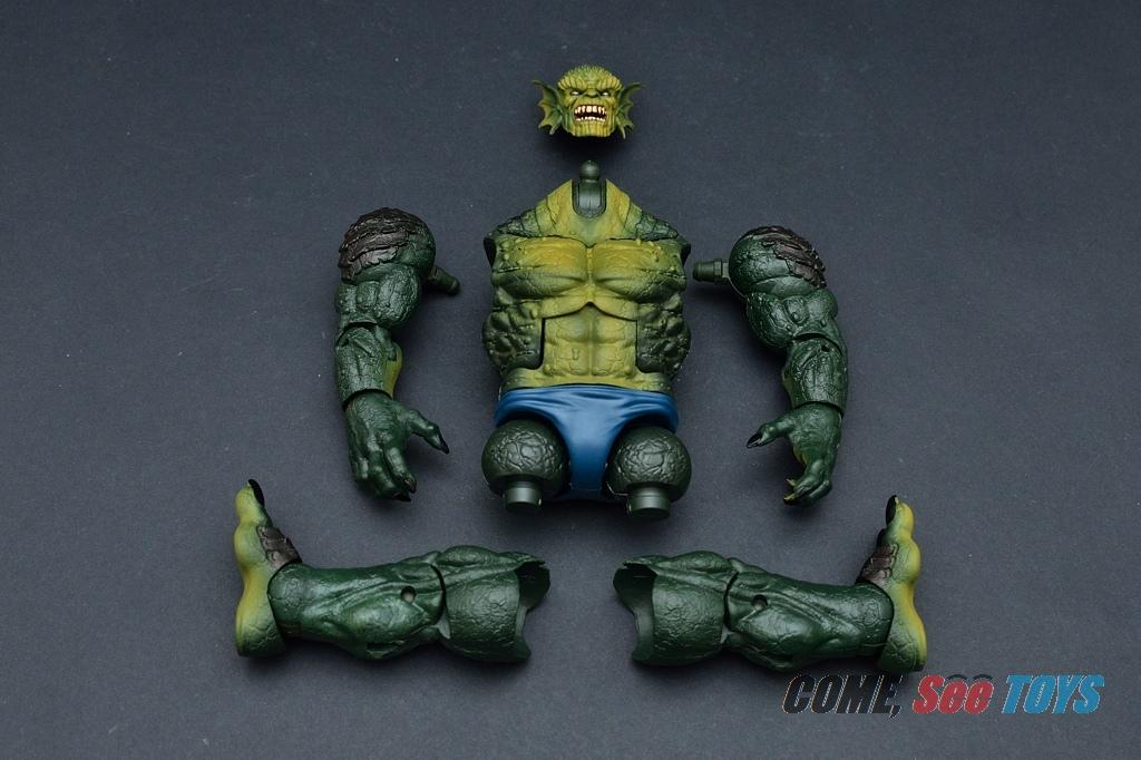 Marvel Legends Series Abomination BAF Right Leg Part