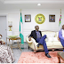 Is The Beef Over? Governor Ambode Hosts Ex-Governor Fashola In Lagos State
