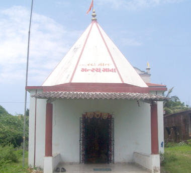 Temple Of Whale Fish Bones In Gujarat