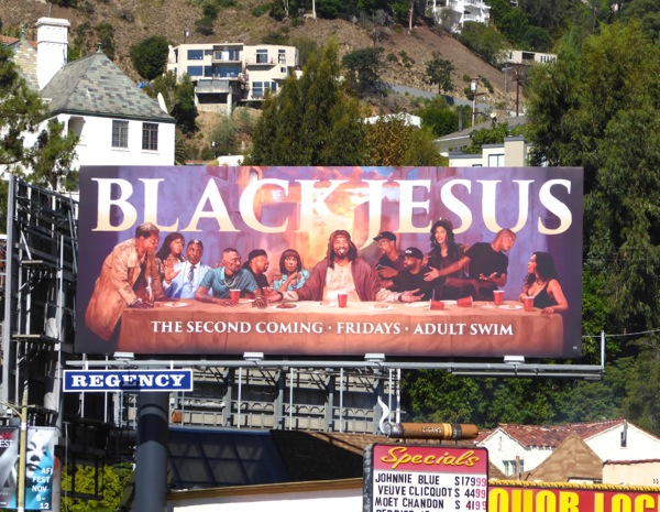 Black Jesus The Second Coming billboard