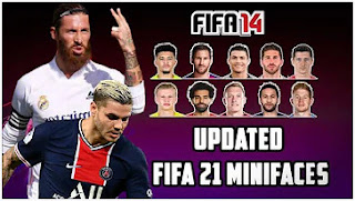Download FIFA 14 MOD FIFA 21 Android Offline New Update Minifaces And Fix Manager Mode & Turnamen Mode