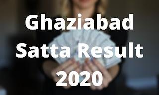 Satta King Ghaziabad Chart 2020