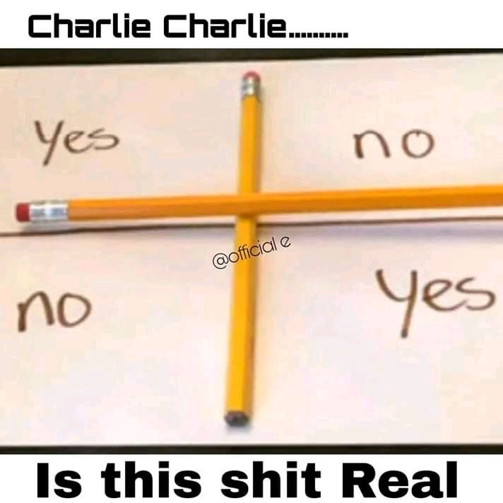 "CHARLIE CHARLIE CHALLENGE!! There's No Demon Called ""Charlie"" – The Game Is Fake & Delusional -DO YOU AGREE?"