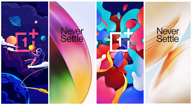 OnePlus 8, OnePlus 8 Pro Stock Wallpapers & Colorful Wallpapers Download