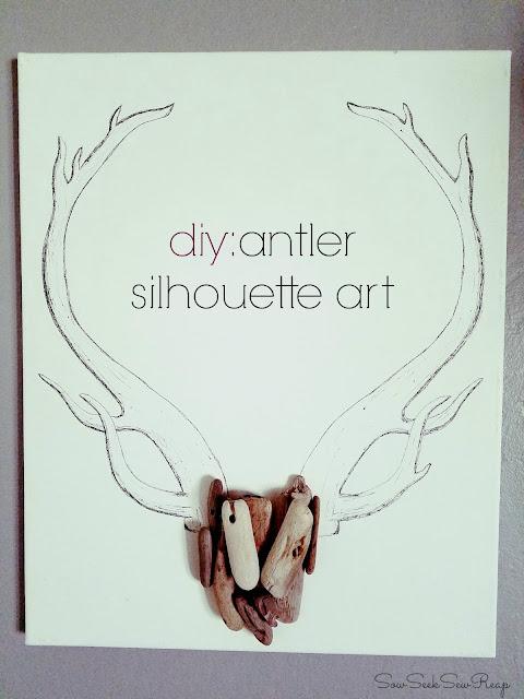 http://sowseeksewreap.blogspot.com/2016/10/diy-antler-silhouette-art.html