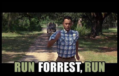 RUN FORREST, RUN