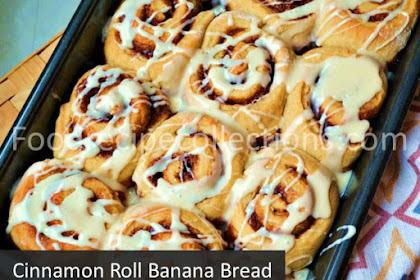 Cinnamon Roll Banana Bread Homemade