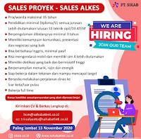 Lowongan Kerja Surabaya di PT. Sikab Sidoarjo November 2020