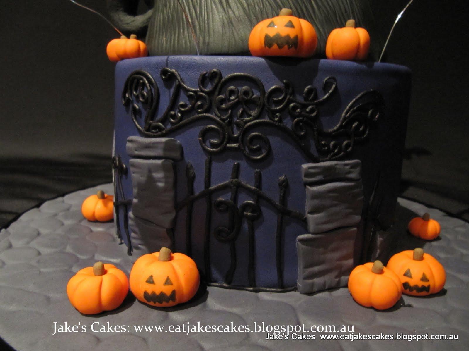 Jake S Cakes Nightmare Before Christmas Cake