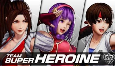 Athena Asamiya salta al escenario en The King of Fighters XV