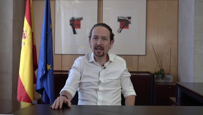 🔴 Pablo Iglesias deja la vicepresidencia del Gobierno de España para presentarse candidato por Madrid.