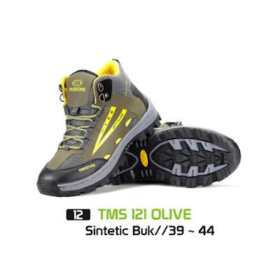 Sepatu Gunung Trekking TMS 121 Olive