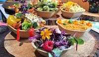Füllett, die bio-vegan gebackenen Schalen für Street Food