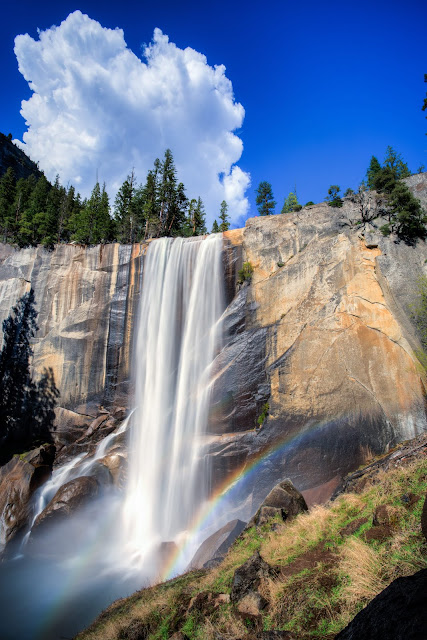 Vernal falls Yosemite_by_Laurence Norah