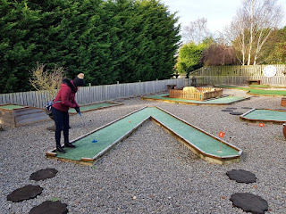 Crazy Golf at Sunnybank Gardens & The Yorkshire Ice Cream Farm in Hatfield, Doncaster