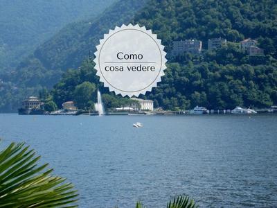 10 cose da vedere a Como: il lago