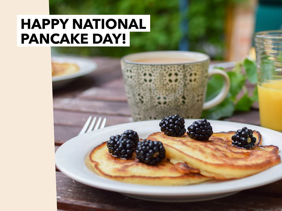 National Pancake Day Wishes Unique Image