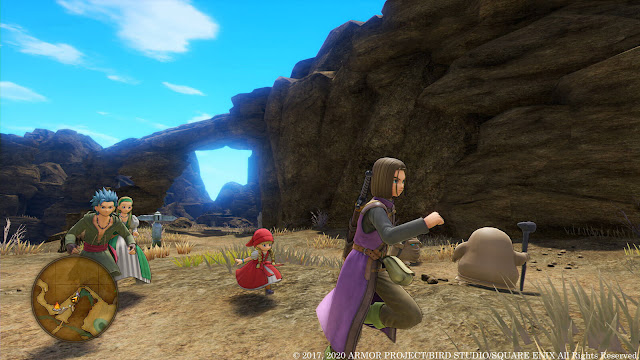 dragon quest 11 s echoes of an elusive age definitive edition demo opening chapter pc steam ps4 xb1 role-playing game square enix
