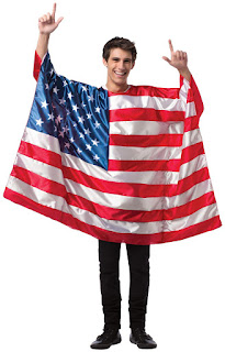USA Flag Tunic Adult Costume