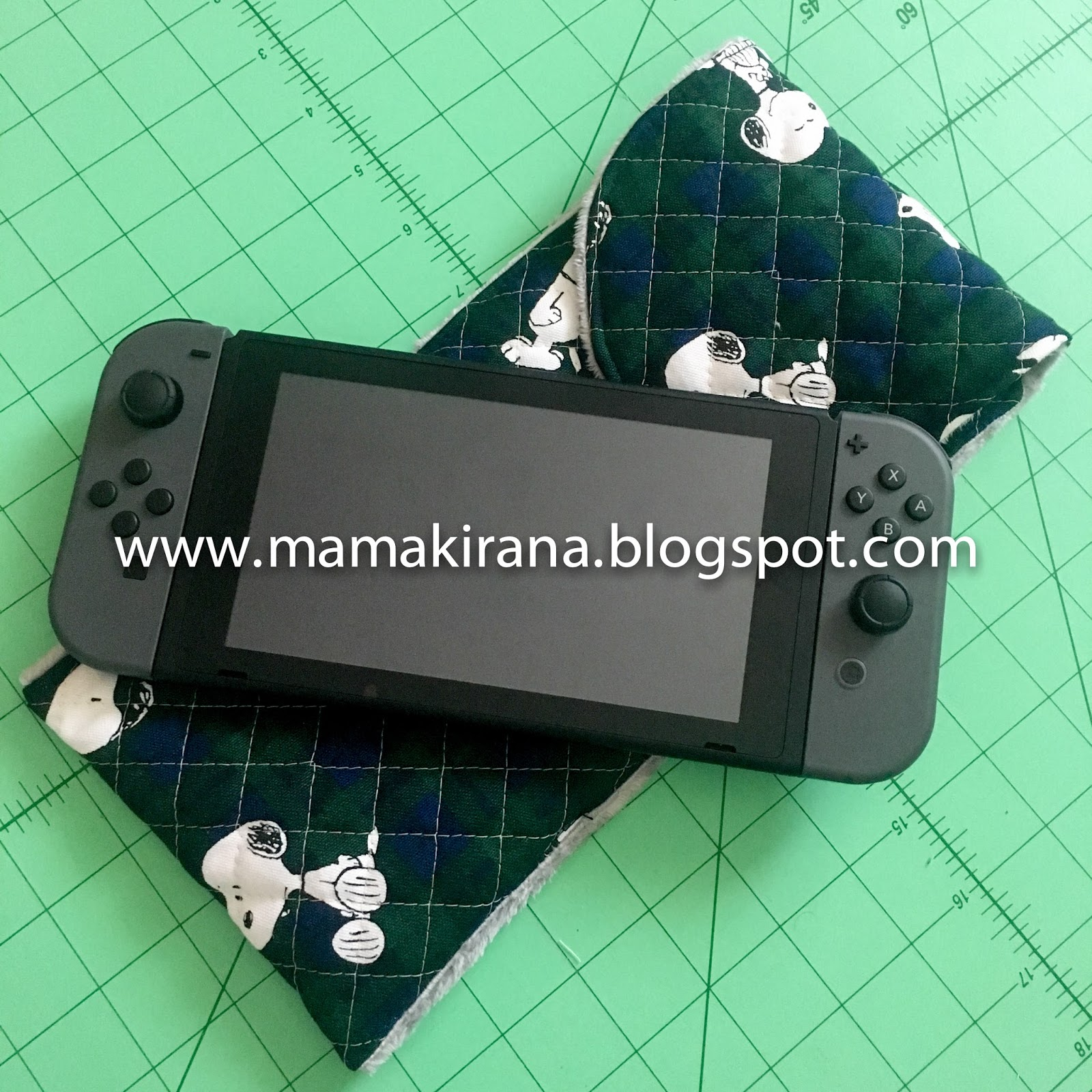 Whirlwind In A Mama\'s Head: Nintendo Switch Sleeve Tutorial