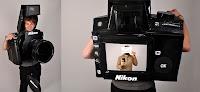 disfraz de camara Nikon