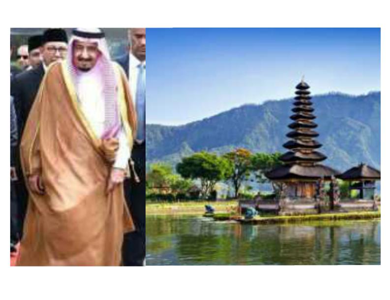 Fasilitas Dan Sambutan Raja Salmam di Bali