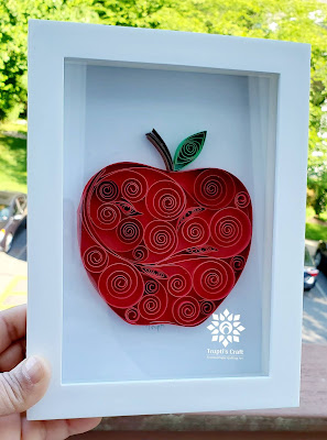 Paper Quilling Apple
