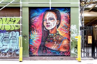 Sunday Street Art : Voudou Style pour la Favela Chic - rue du Faubourg du Temple - Paris 11
