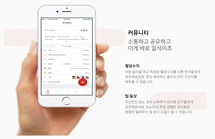 Dr. Diary startup mobile solutions diabetics Gyeonggi-do College Students Convergence Technology Start-up