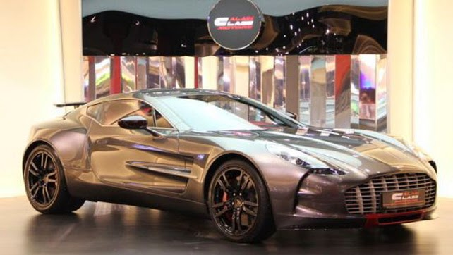 Aston Martin One-77 Cars Area Unit Nice And Fancy (2013