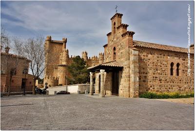 Resultado de imagen de Guadamur Ermita de la Virgen de la Natividad