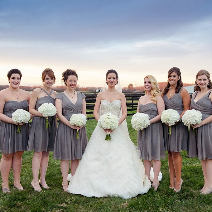 Chic Bridesmaid Dress: One Color, Different Styles